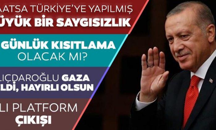 Başkan Erdoğan'dan ABD'ye çok sert tepki