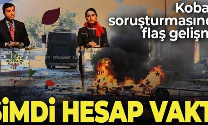 Kobani iddianamesi kabul edildi!