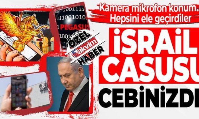 Cebinizdeki İsrail casusuna dikkat!