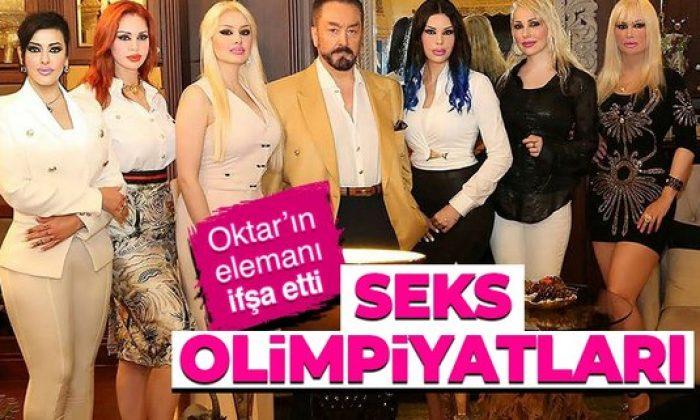 Adnan Oktar'ın seks olimpiyatları ifşa oldu