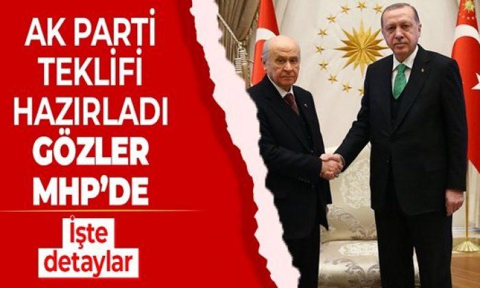 AK Parti'nin MHP'ye götüreceği teklif netleşti!