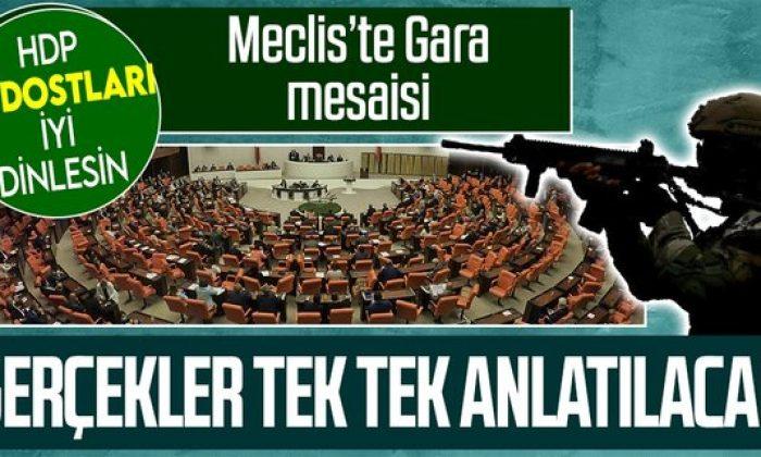 Milli Savunma Bakanı Hulusi Akar ile İçişleri Bakanı Süleyman Soylu Meclis'te Gara Operasyonu'nu anlatacak
