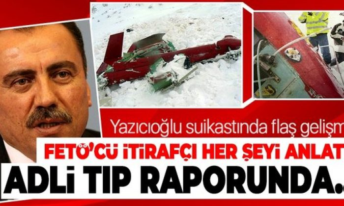 Yazıcıoğlu suikastında flaş gelişme!