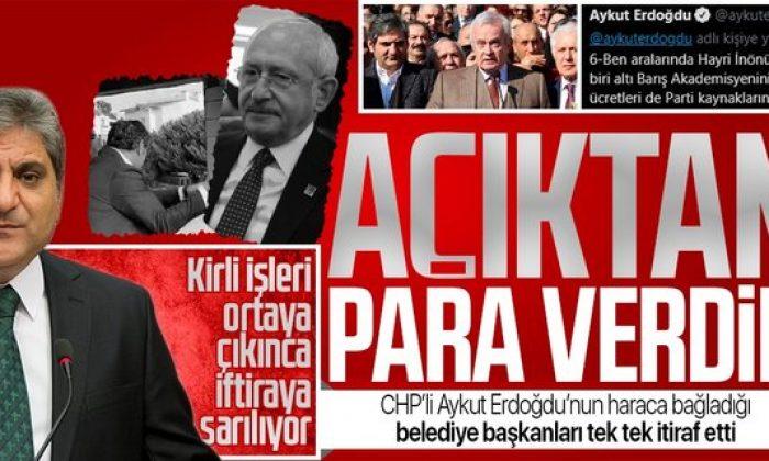 CHP'li Aykut Erdoğdu'nun haraca bağladığı belediye başkanları konuştu