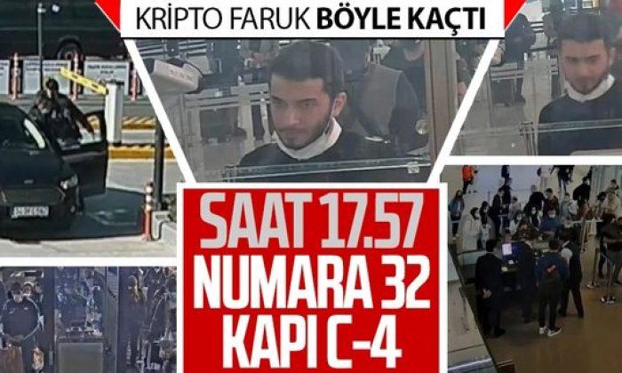 Kripto para borsası Thodex'in sahibi Faruk Fatih Özer'in yurt dışına kaçışının görüntüleri ortaya çıktı