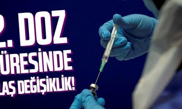 BioNTech aşısının ikinci doz süresinde flaş değişiklik!