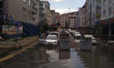 Ankara'da yağış hayatı olumsuz etkiliyor
