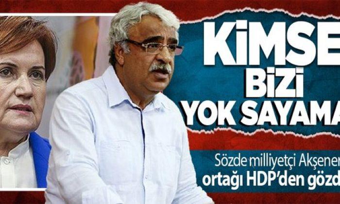 HDP'li Mithat Sancar'dan 'ayrı aday çıkarın' diye taktik veren Meral Akşener'e gözdağı