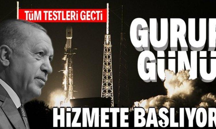 Türksat 5A haberleşme uydusu Başkan Erdoğan'ın katılımıyla bugün hizmete başlayacak