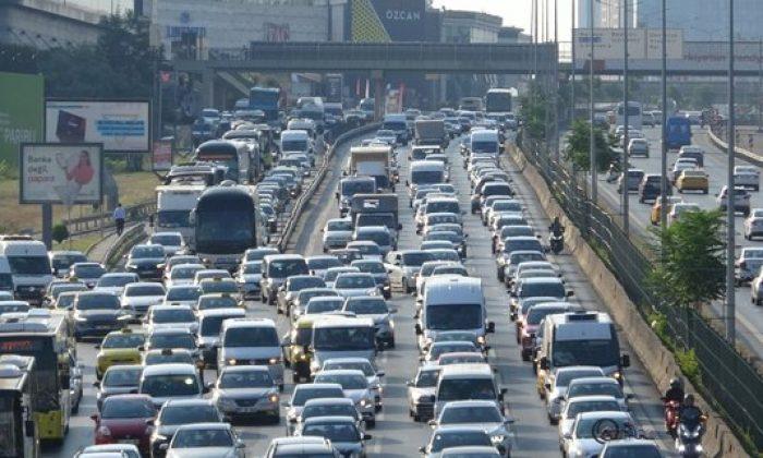 Kurban Bayramı tatili dönüşü İstanbul'da trafik eski günlerine döndü!