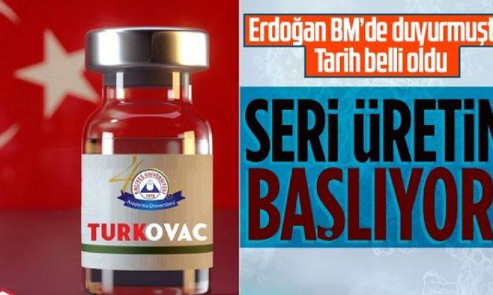 Turkovac Ekim ayında seri üretime geçecek