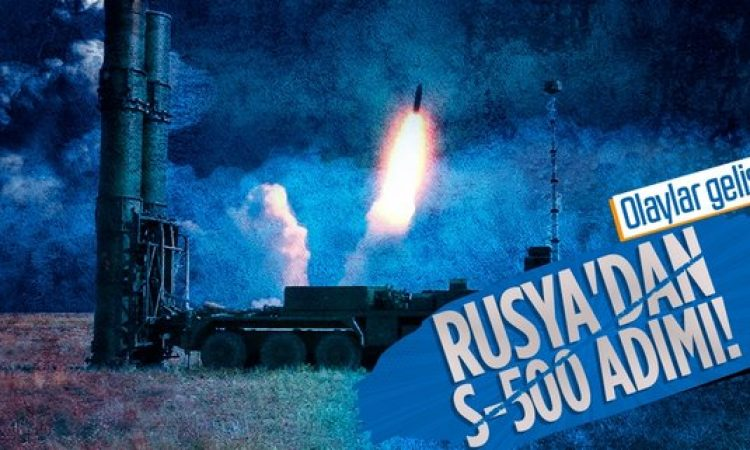 Rusya S-500'i kullanıma aldı! Hipersonik silahları yok ediyor