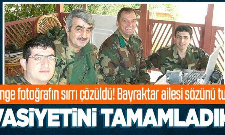 Özdemir Bayraktar'a son veda!